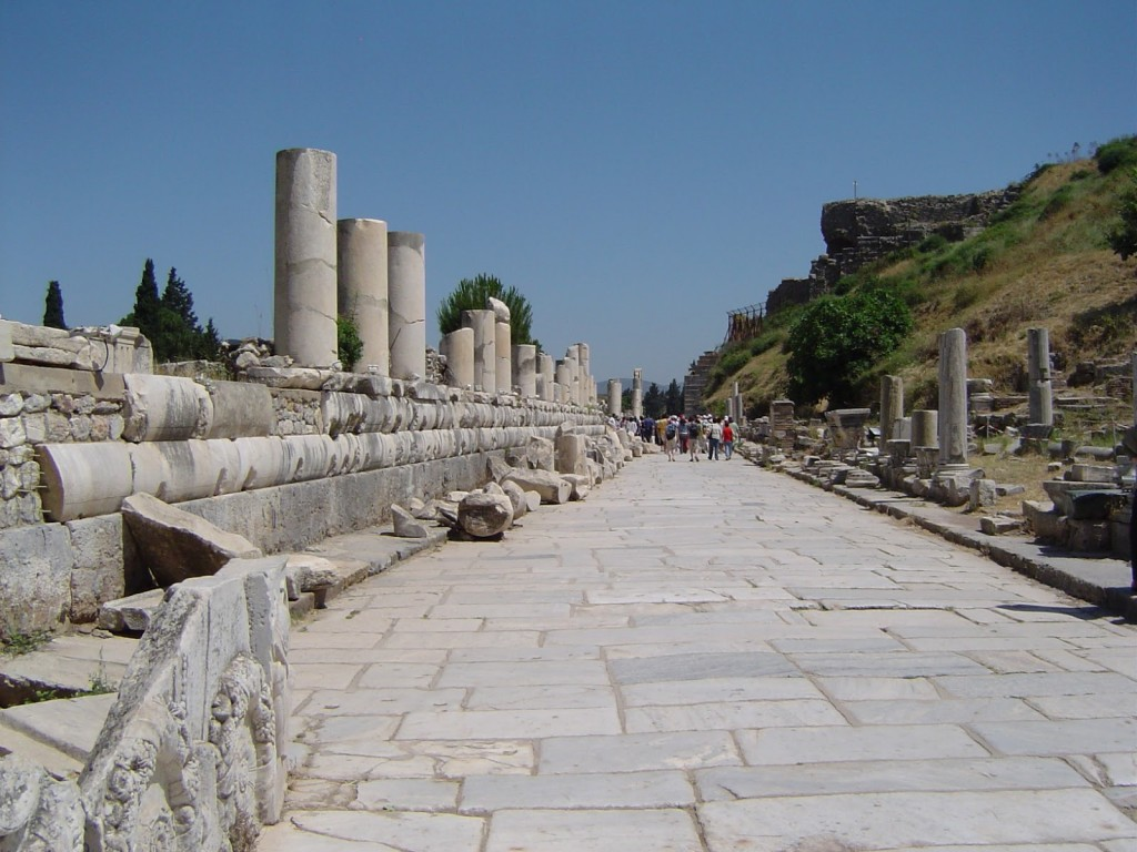 Marble Street (The Apostle Paul would have walked on these flagstones!)
