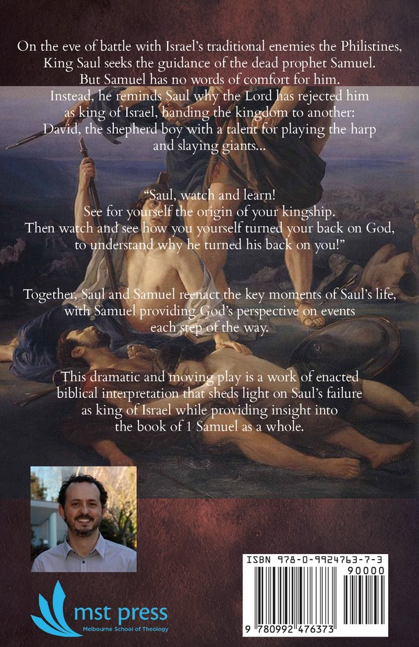 Saul Back Cover